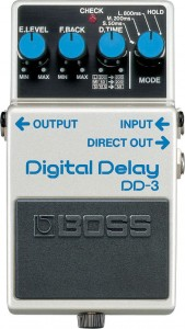 Boss DD-3 Digital Delay Pedal (Incl. 1 Year Warranty)