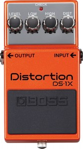 Boss DS-1X Distortion Pedal (Incl. 1 Year Warranty)