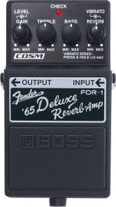 Boss FDR-1 Fender '65 Deluxe Reverb Pedal (Incl. 1 Year Warranty)