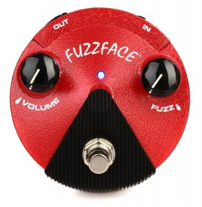 Dunlop FFM-2 Germanium Fuzz Face Mini Distortion Pedal