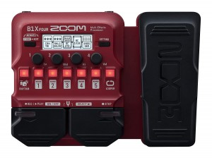 Zoom B1X Four Bass Multi-Effects Processor (Incl. 1 Year Warranty)
