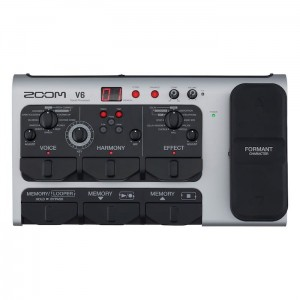 Zoom V6 Multi-Effects Vocal Processor (Incl. 1 Year Warranty)