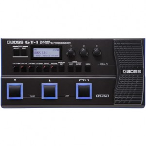 Boss GT-1 Multi Effects Processor (Incl. 1 Year Warranty & Adapter)