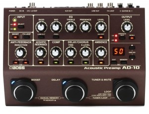Boss AD-10 Acoustic Preamp/DI/Multi-Effects Pedal