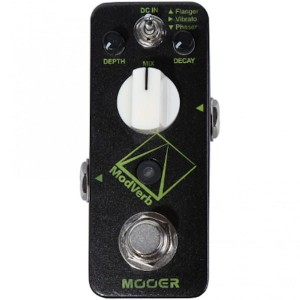 Mooer ModVerb Digital Modulation/Reverb Pedal