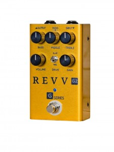 Revv G2 Limited Edition Gold Dynamic Overdrive Pedal