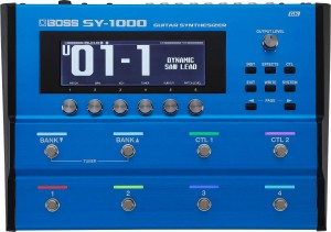 Boss SY-1000 Guitar Synthesizer Pedal (Incl. 1 Year Warranty)