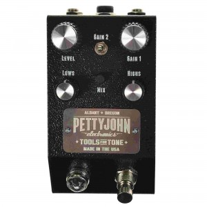 Pettyjohn Electronics Fuze Distortion/Fuzz Pedal