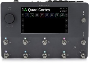 Neural DSP Quad Cortex Quad-Core Digital Effects Modeler/Profiling Floorboard (Incl. 1 Year Warranty & Bag)