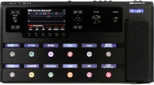 Line 6 Helix Multi-Effects Guitar Processor (Incl. 1 Year Warranty and Bag)