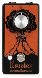 EarthQuaker Devices Erupter Ultimate Fuzz Tone Pedal