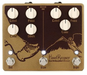 EarthQuaker Devices Hoof Reaper Double Fuzz with Octave Up Pedal