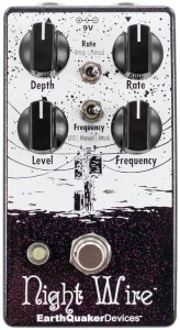 EarthQuaker Devices Night Wire Harmonic Tremolo Pedal
