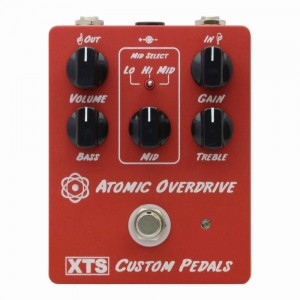 XTS Atomic Overdrive High-Gain British Overdrive Pedal