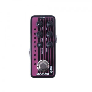 Mooer Micro Preamp 009 Blacknight Pedal