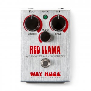 Way Huge WHE206 25th Anniversary Red Llama Limited Edition Overdrive Pedal