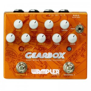 Wampler Gearbox Andy Wood Signature Overdrive Pedal