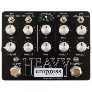 Empress Effects Heavy Dual-Channel Distortion Pedal