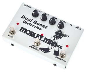 Morley Man FX Dual Boost Distortion Pedal