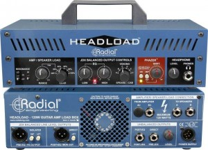 Radial Headload V16 (16 Ohms) Load Box with Cab Simulation