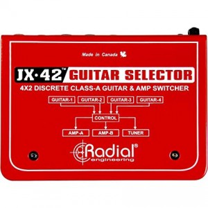 Radial JX-42 Guitar & Amp Switcher