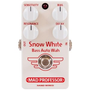 Mad Professor Snow White Bass Auto Wah Hand Wired Pedal