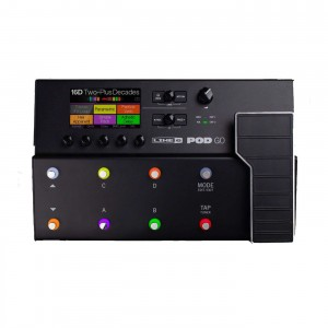 Line 6 POD GO Multi-Effects Processor (Incl. 1 Year Warranty and Bag)