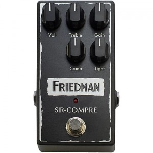Friedman Sir-Compre Compressor/Overdrive Pedal