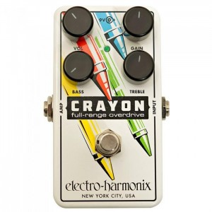 EHX Crayon Full-Range Overdrive 76 Pedal