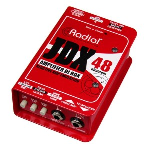 Radial JDX 48 1-channel Active Instrument DI Box