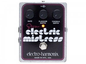 Electro-Harmonix Stereo Electric Mistress Chorus/Flanger Pedal