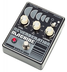 Death By Audio Reverberation Machine Pedal