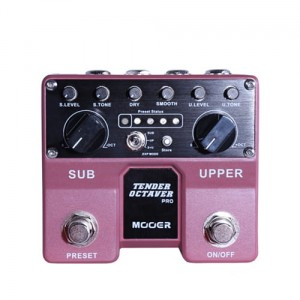 Mooer Twin Series Tender Octaver Pro Octave Pedal