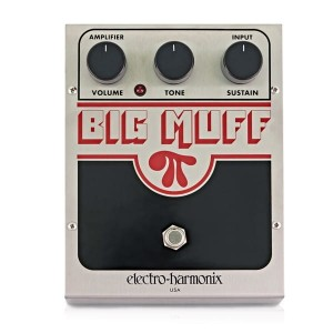 Electro-Harmonix Big Muff Pi Distortion/Fuzz/Sustainer Pedal