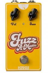 RYRA Fuzz A-Matic Pedal