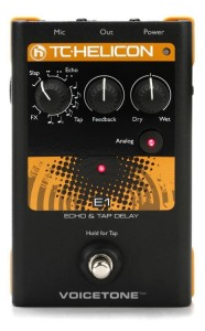 TC Helicon Voicetone E1 Vocals Effects Pedal