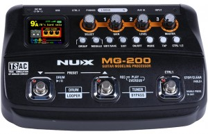 NUX MG-200 Guitar Modeling Processor
