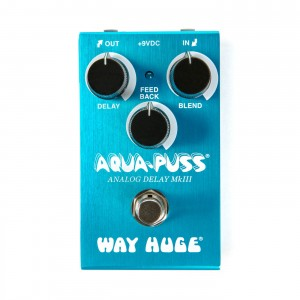 Way Huge WM71 Smalls Aqua Puss Analog Delay MkIII Pedal