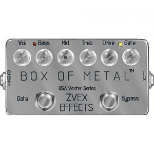 ZVEX US Vexter Box of Metal Distortion Pedal