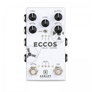 Keeley ECCOS Delay / Looper Pedal