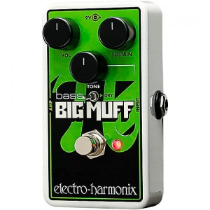 Electro-Harmonix Nano Bass Big Muff Distortion/Sustainer Pedal