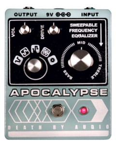 Death By Audio Apocaplypse Fuzz Distortion Pedal