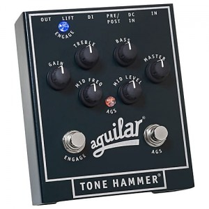Aguilar Tone Hammer Preamp/Direct Box Bass Pedal