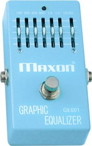 MAXON GRAPHIC EQUALIZER (GE601)