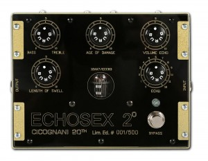 Gurus Echosex 2° LTD Limited Edition Echo Pedal
