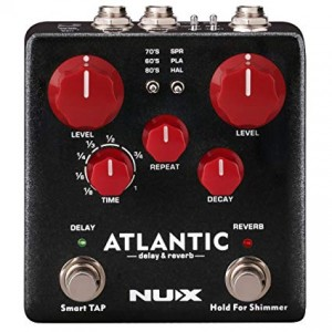 NUX Atlantic Delay/Reverb Pedal