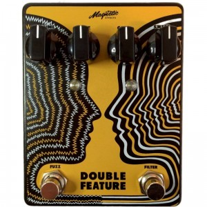 Magnetic Effects Double Feature Fuzz/Fixed Wah Pedal