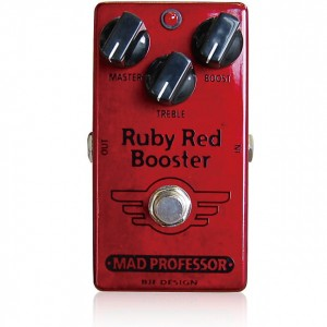 Mad Professor Ruby Red Booster Pedal