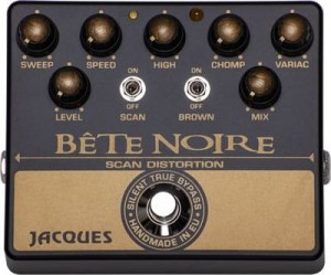 Jacques Bête Noire Overdrive/Distortion/Phaser Pedal