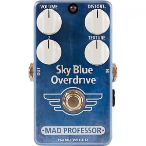 Mad Professor Sky Blue Overdrive Hand Wired Pedal